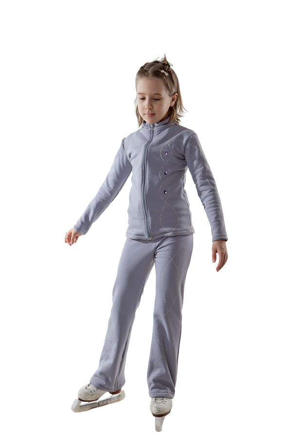 Тренировочный термокостюм Болеро из Полартек для фигурного катания