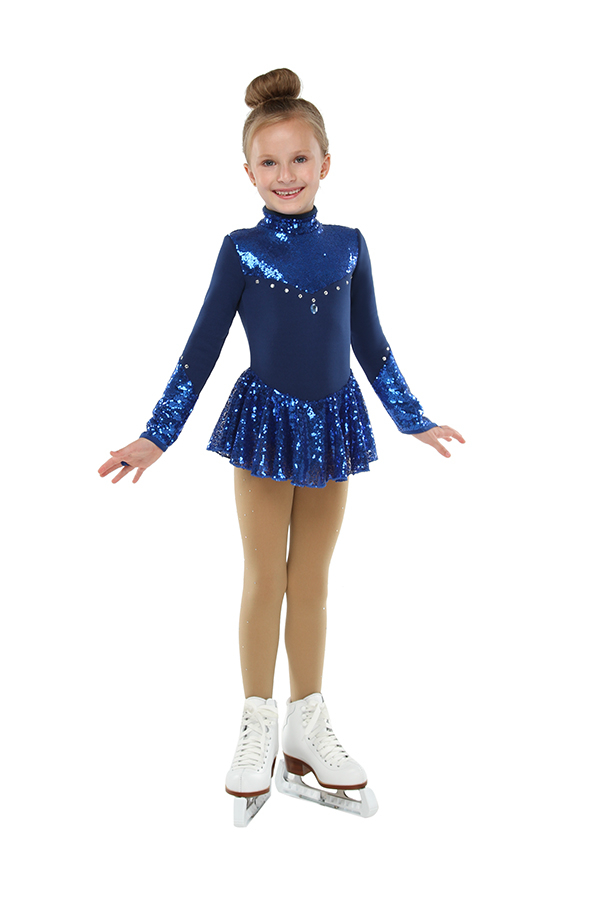 Competition dress (blue)