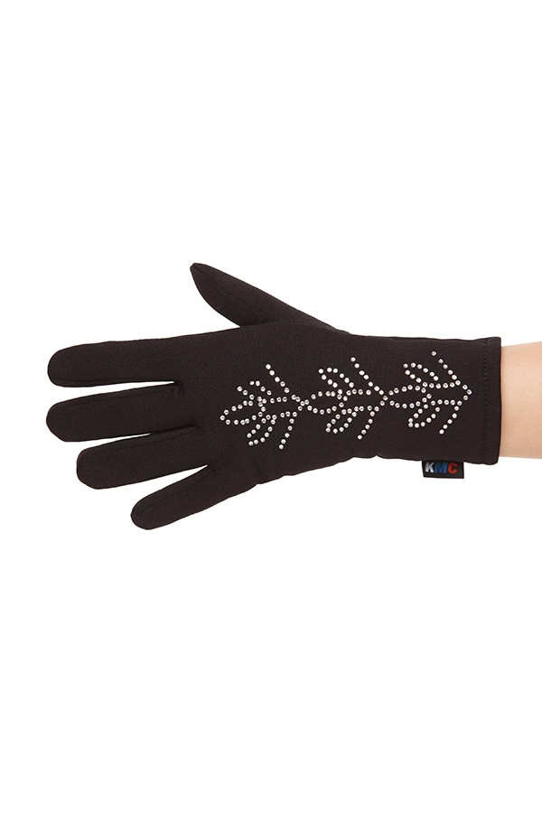 Gloves with Crystals