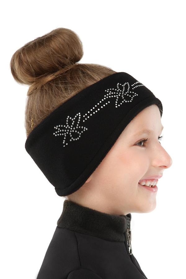 Headband (black/crystals3)